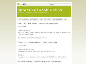 Shadabad Games Saves